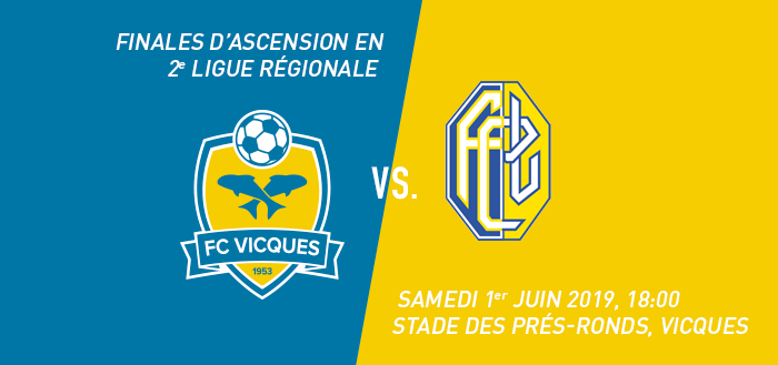 Finales d'ascension : FC Vicques - FC Länggasse