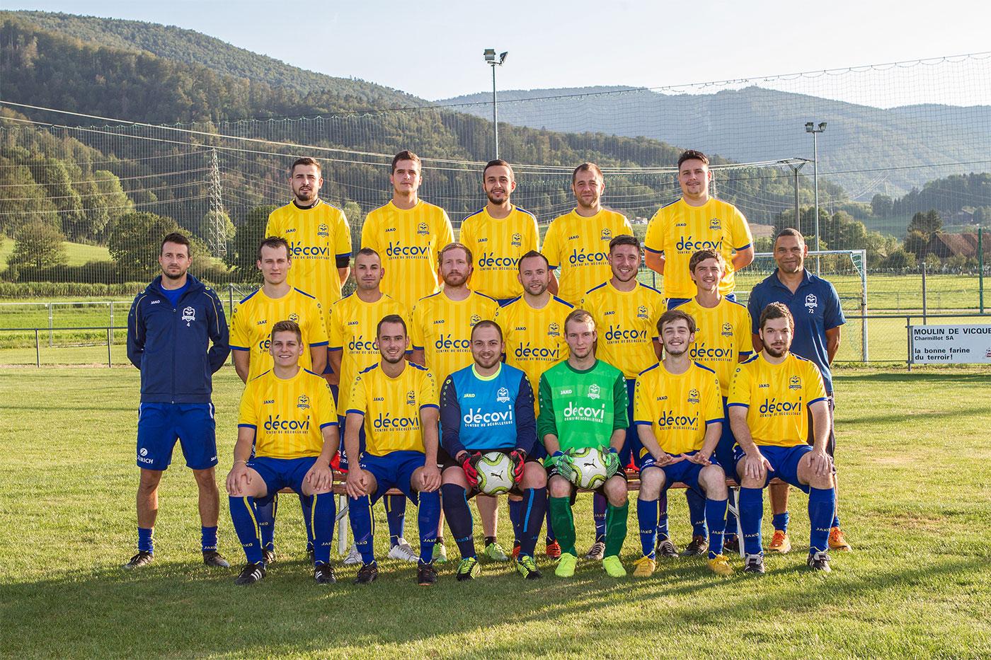FC Vicques II - Saison 2019-2020 - 4e ligue